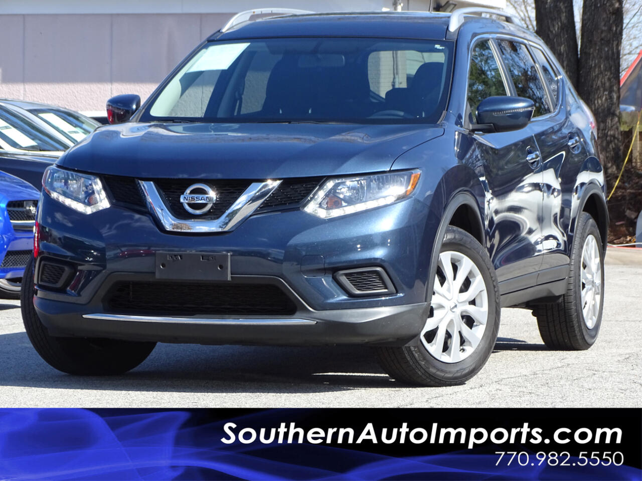 2016 Nissan Rogue S AWD w/Back up Camera Satellite Bluetooth