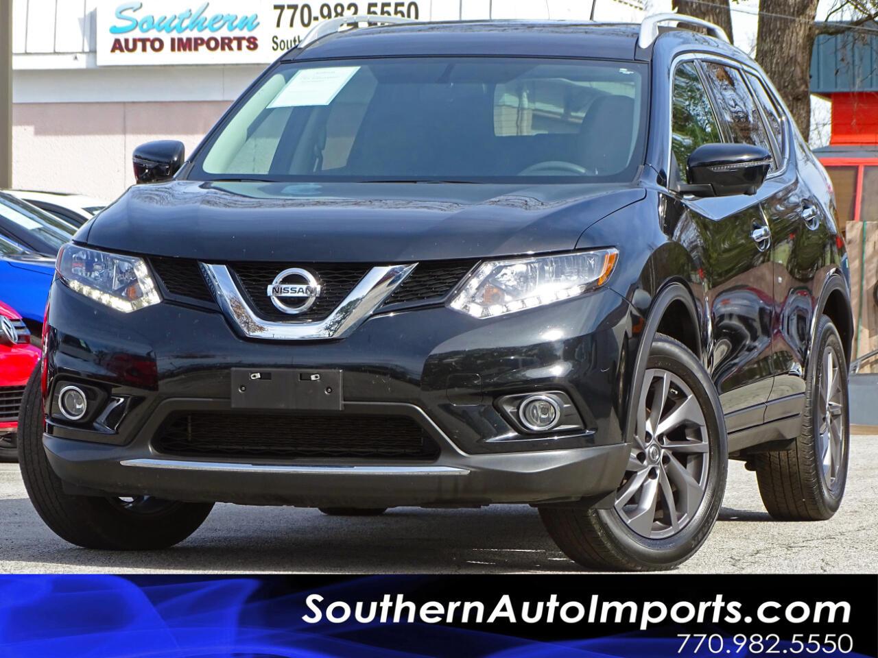 2016 Nissan Rogue SL AWDw/Back up Camera Navigation system