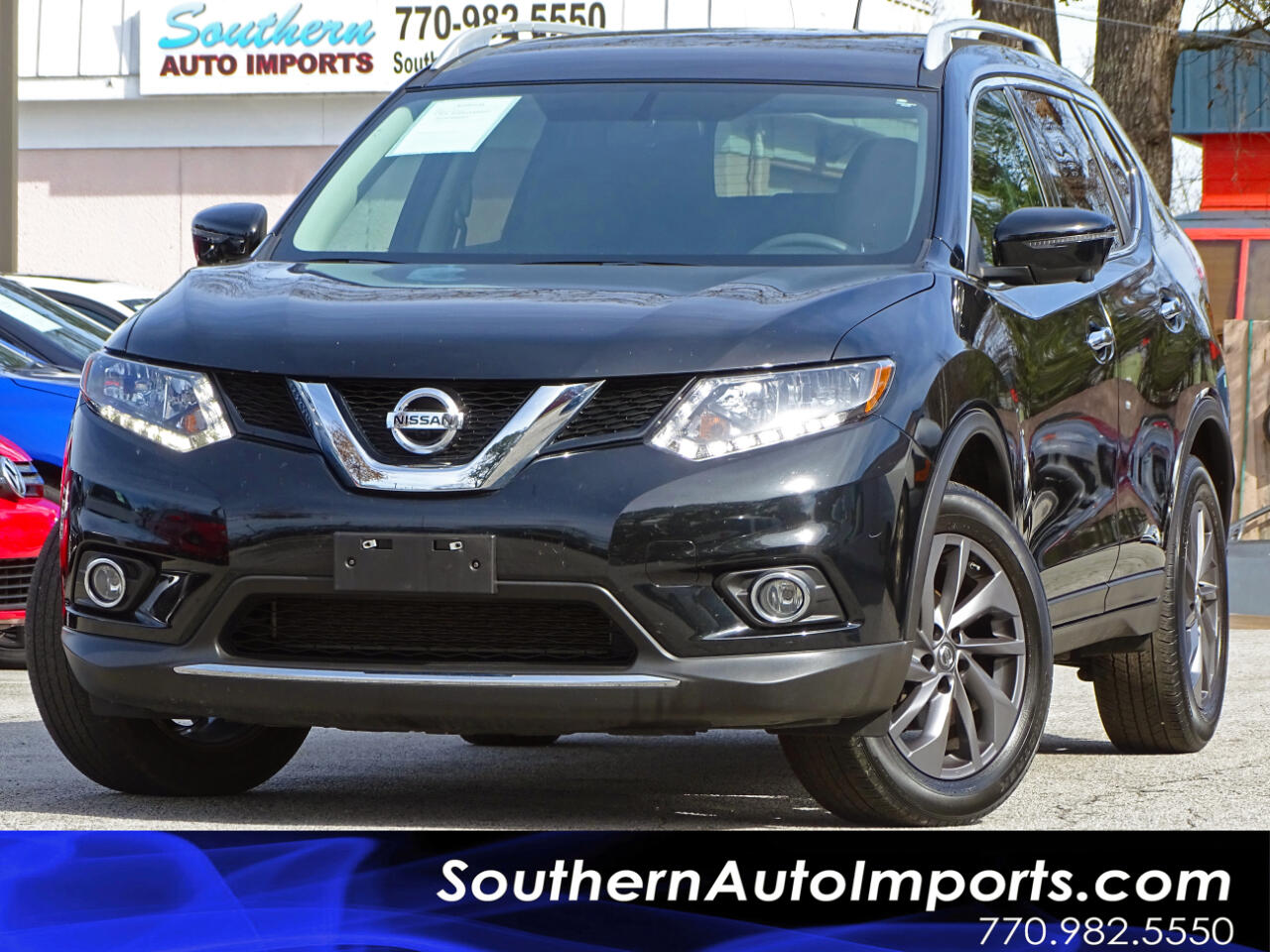 2016 Nissan Rogue SL AWDw/Back up Camera Navigation system