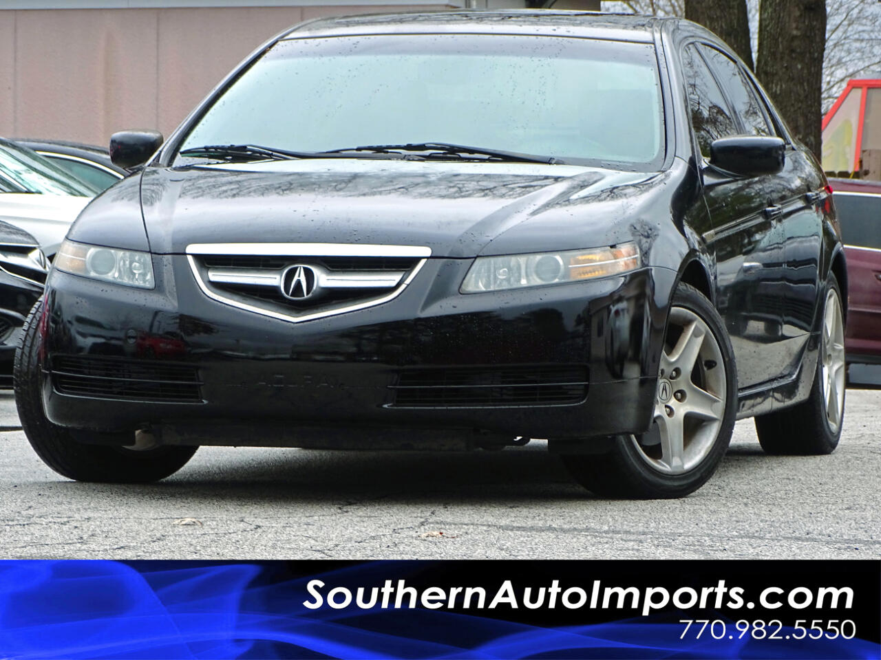 2004 Acura TL 6 Speed Manual w/Tech Package
