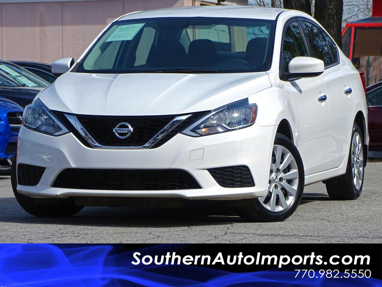 2017 Nissan Sentra S Bluetooth Connection
