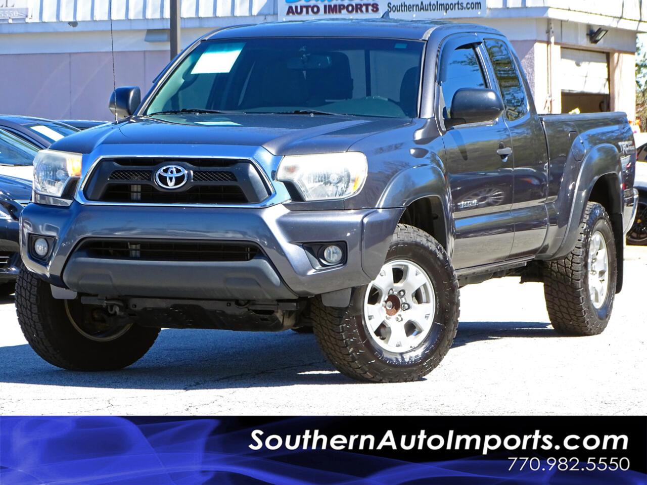 2012 Toyota Tacoma Pre Runner 2WD w/Back up Camera Satellite