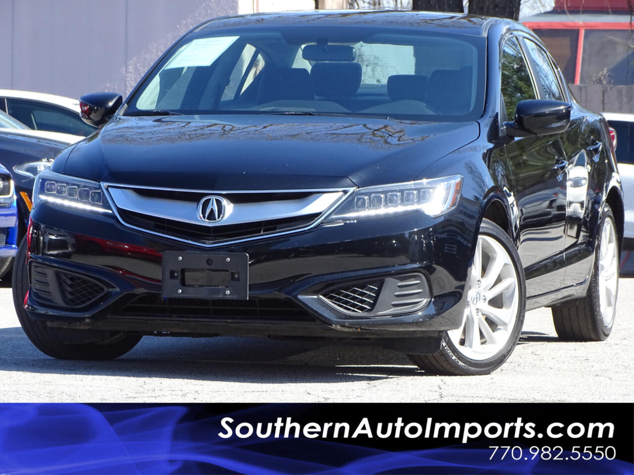 2016 Acura ILX AUTO w/Back up Camera Paddle Shiftter