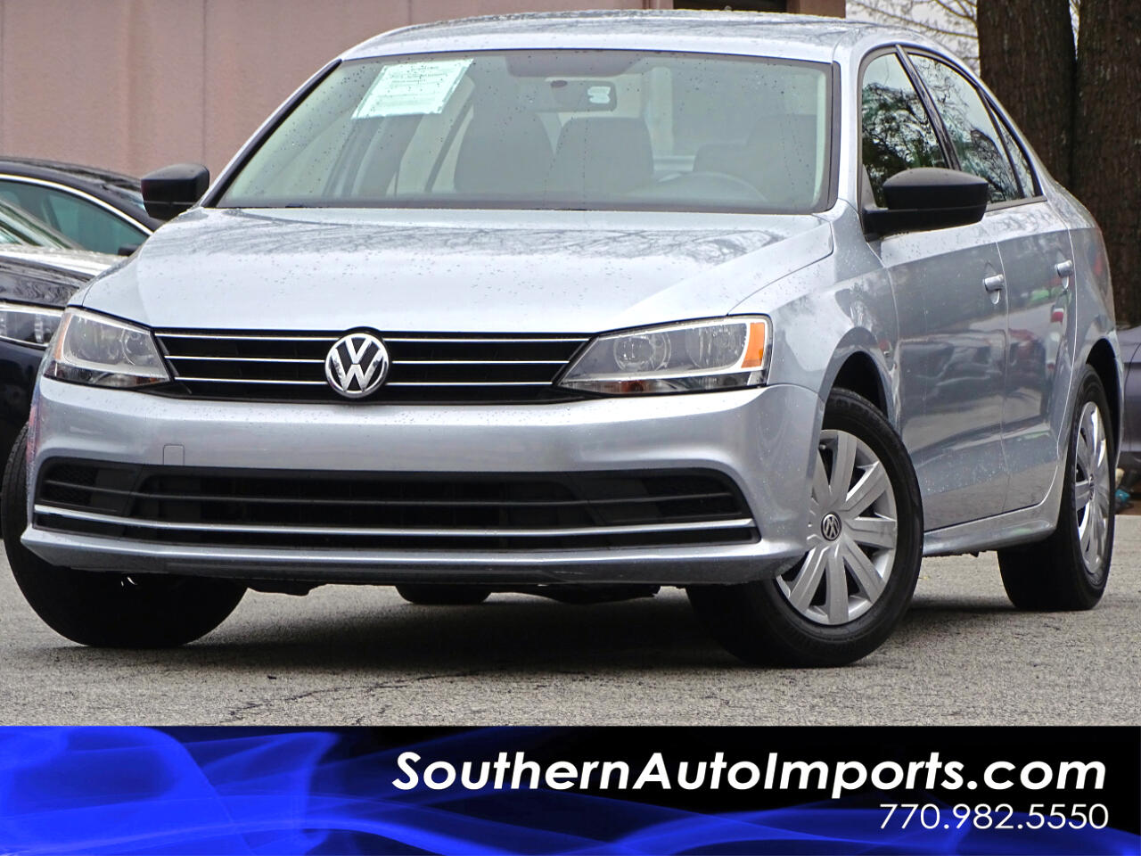 2015 Volkswagen Jetta Sedan 2.0 S w/Tech Pkg 5 spd Manual 1owner