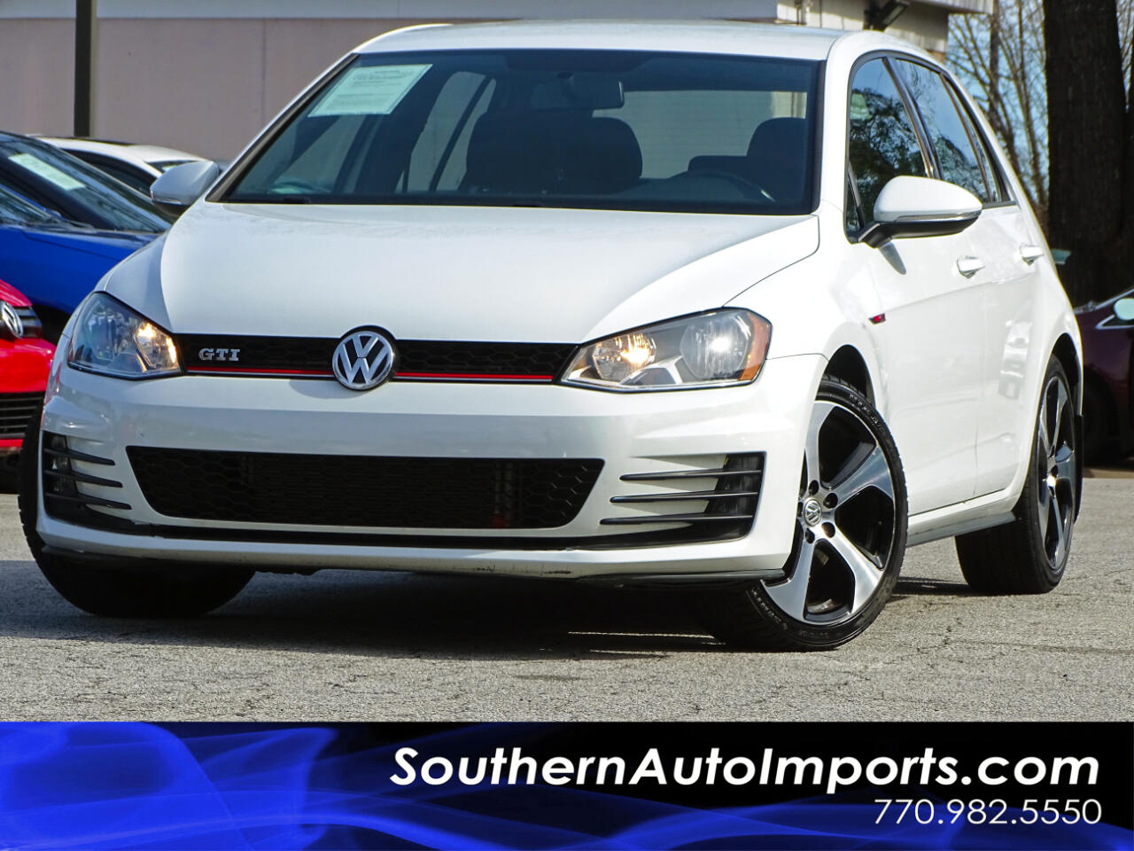 2016 Volkswagen Golf GTI S Manual w/Back up Camera Heated Seats