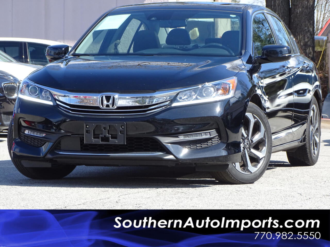 2016 Honda Accord Sedan EX-L w/Navigation and Honda Sensing