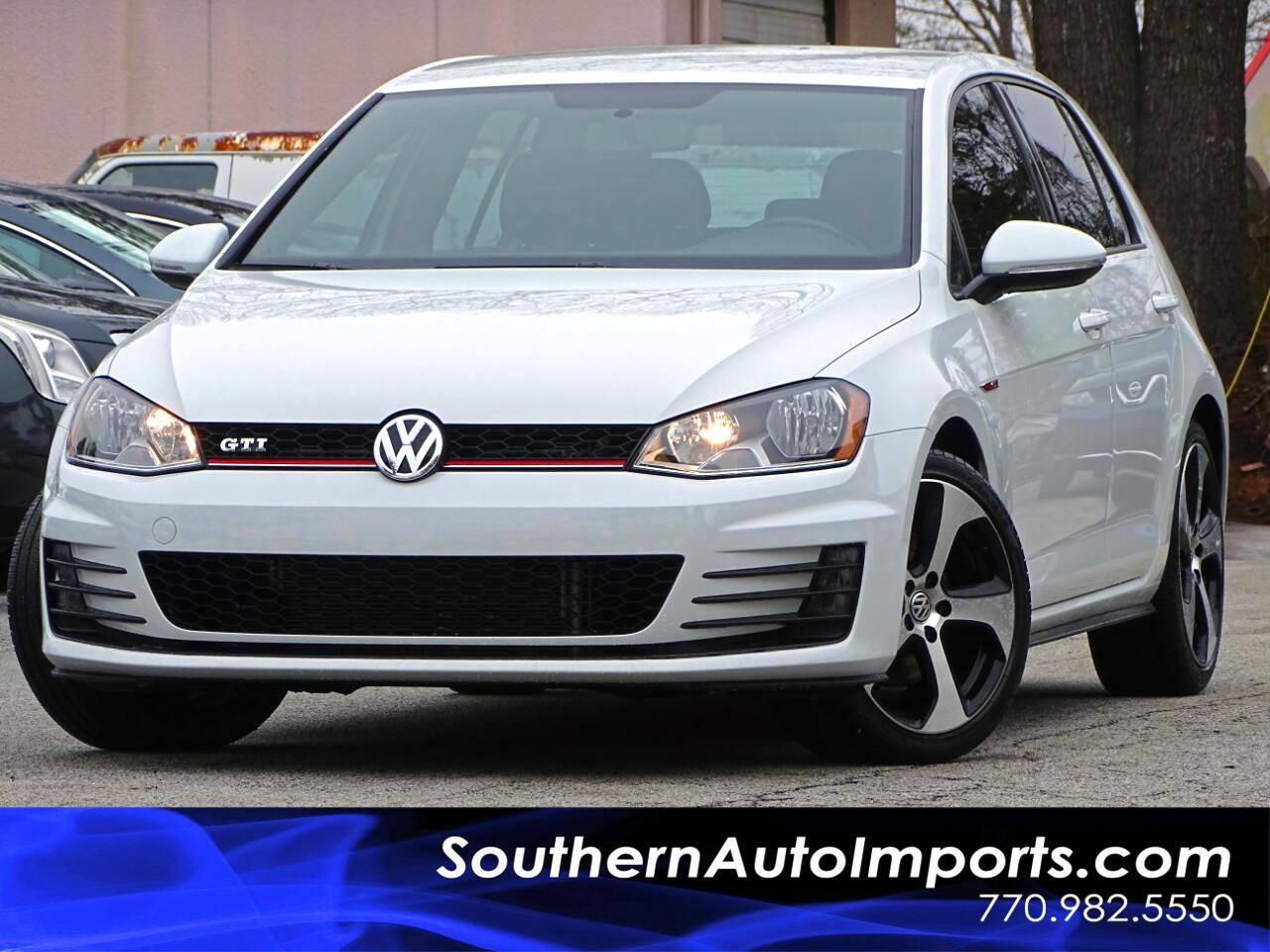 2016 Volkswagen Golf GTI S w/Back Up Camera Heated Seats