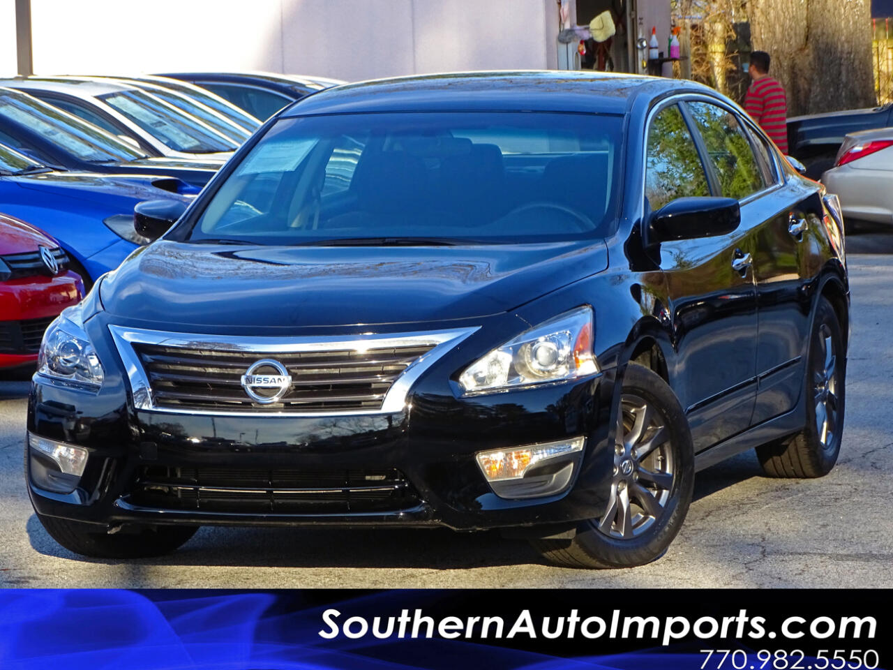 2015 Nissan Altima S w/Back up Camera Alloy Wheels