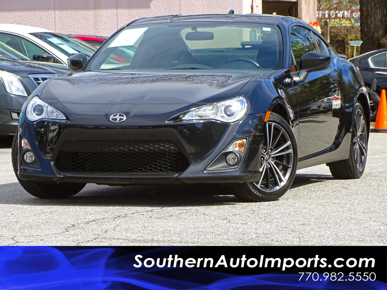 2016 Scion FR-S AUTO w/Bluetooth Connection Fog lamps