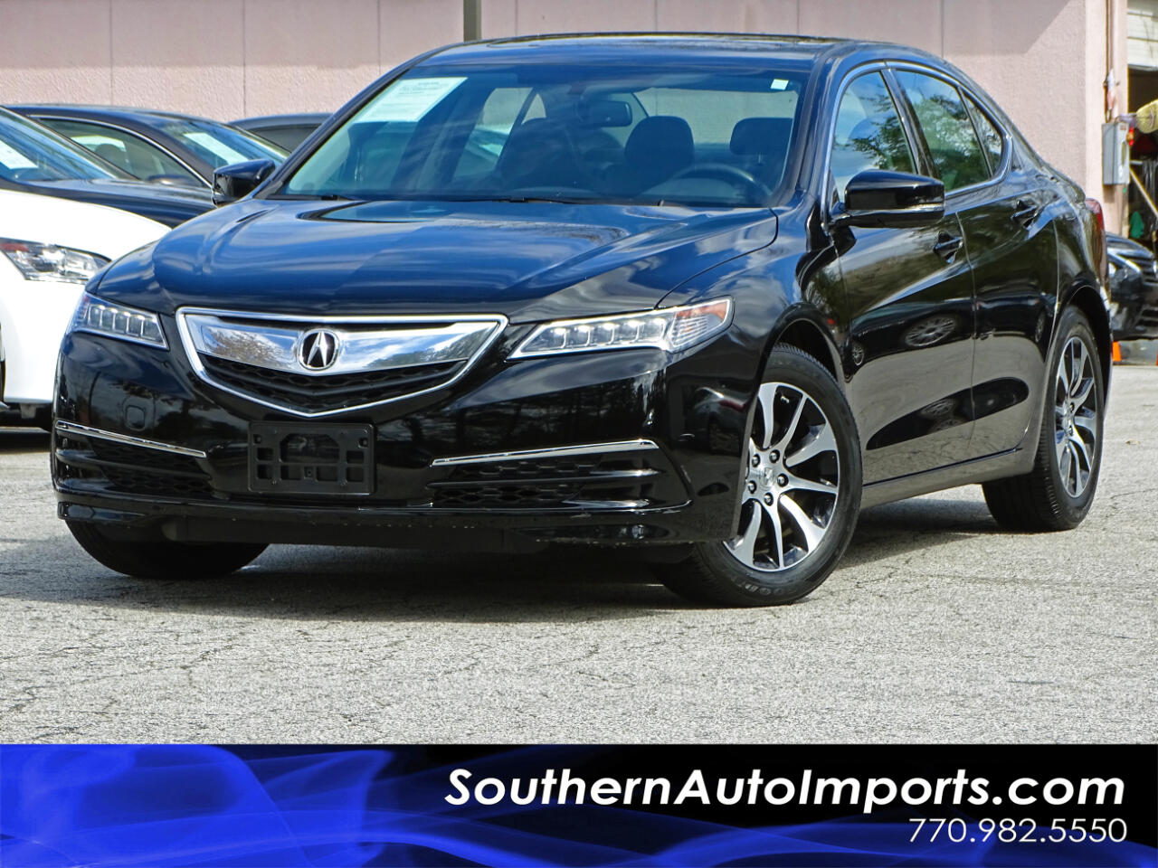 2016 Acura TLX AUTO w/Back up Camera Paddle Shifter