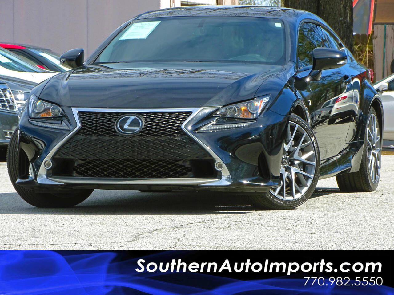 2015 Lexus RC 350 F-Sport Pkg w/Red Interior Navigation