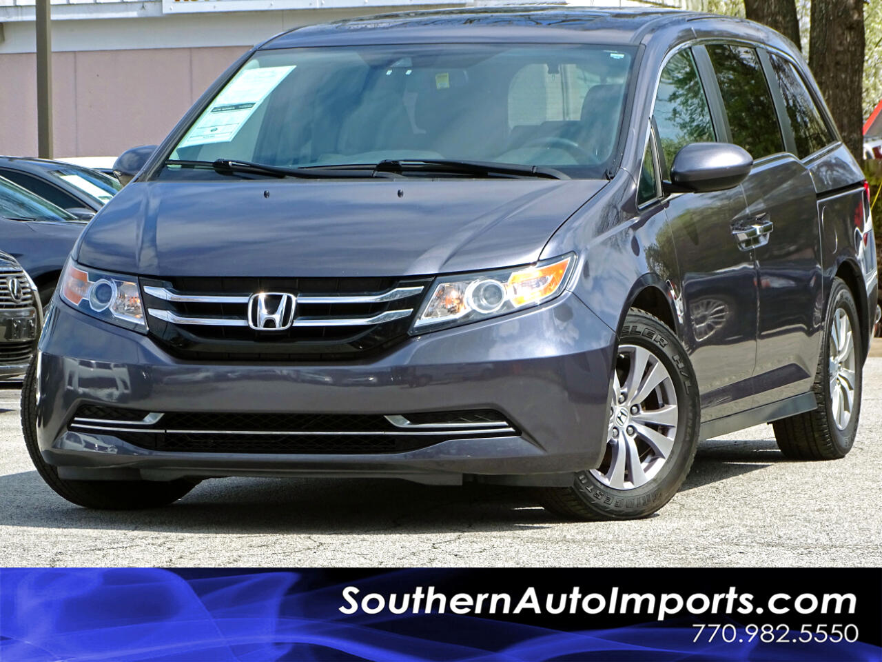2016 Honda Odyssey EX-L w/3rd row seats Back up Camera