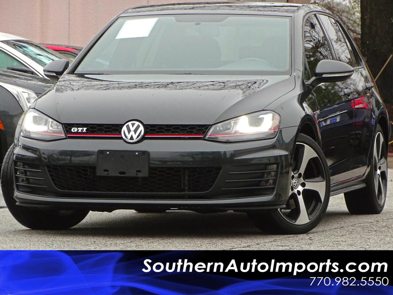 2016 Volkswagen Golf GTI S w/Lighting Package Back Up Camera 1owner
