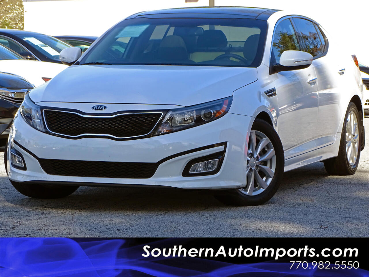 2015 Kia Optima EX w/Premium Pkg Panorama Roof Back Up Camera