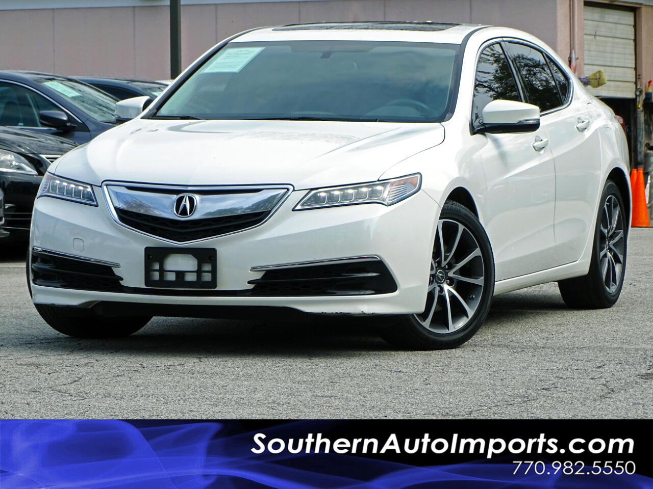 2016 Acura TLX V6 w/Back Up Camera 1owner
