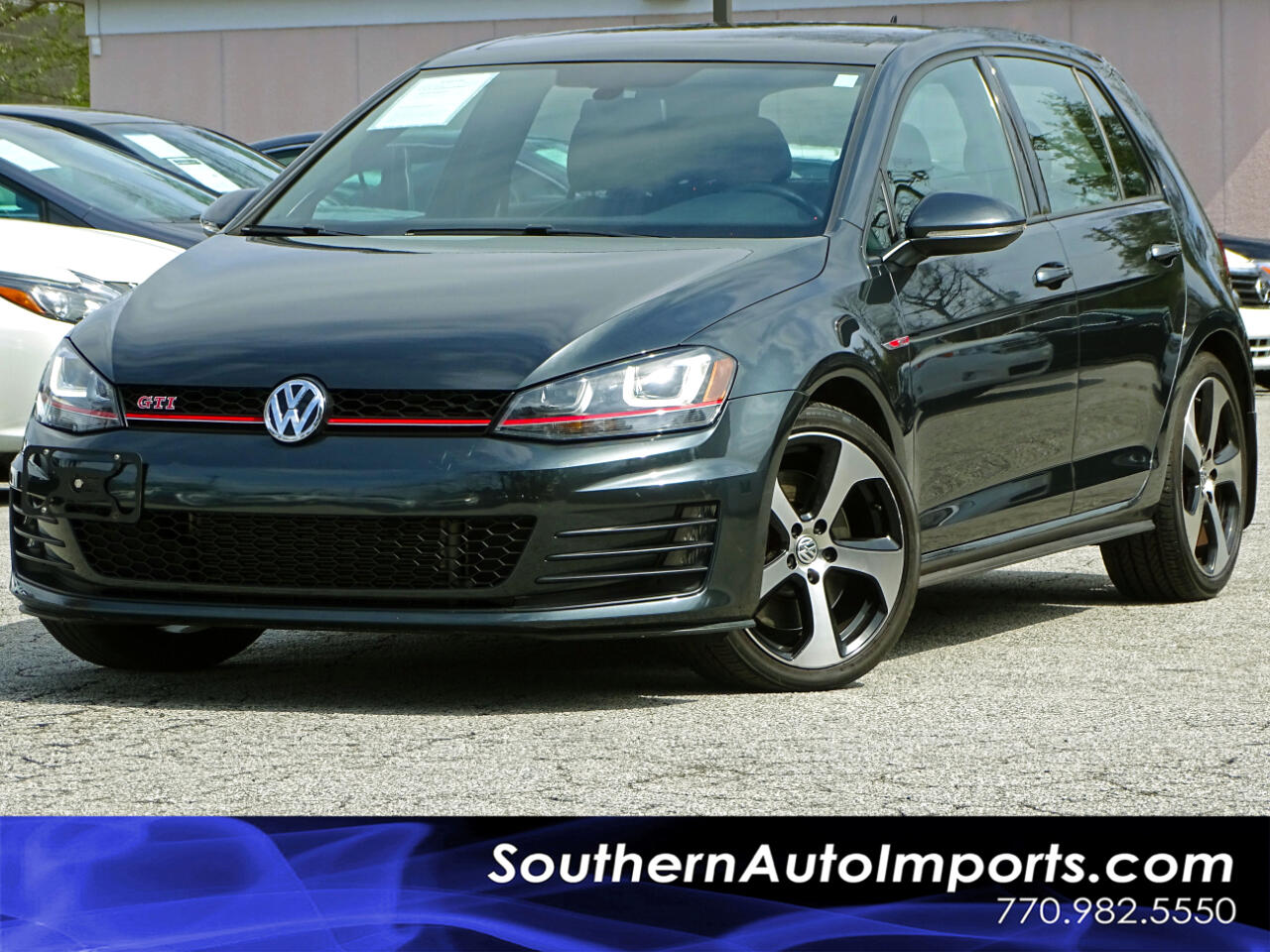 2016 Volkswagen Golf GTI SE w/Perfomance Pkg n Lighting Pkg