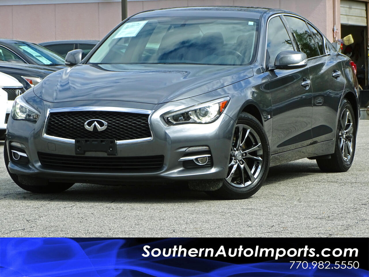 2015 Infiniti Q50 Premium w/Navigation Back Up Camera