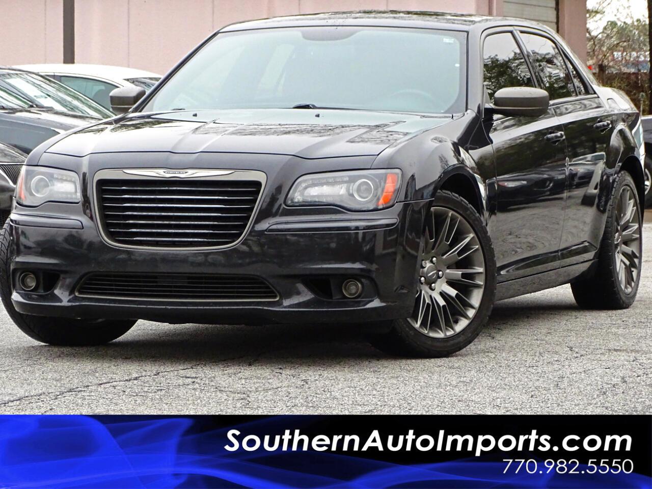 2014 Chrysler 300 4dr Sdn 300C John Varvatos Limited Edition RWD