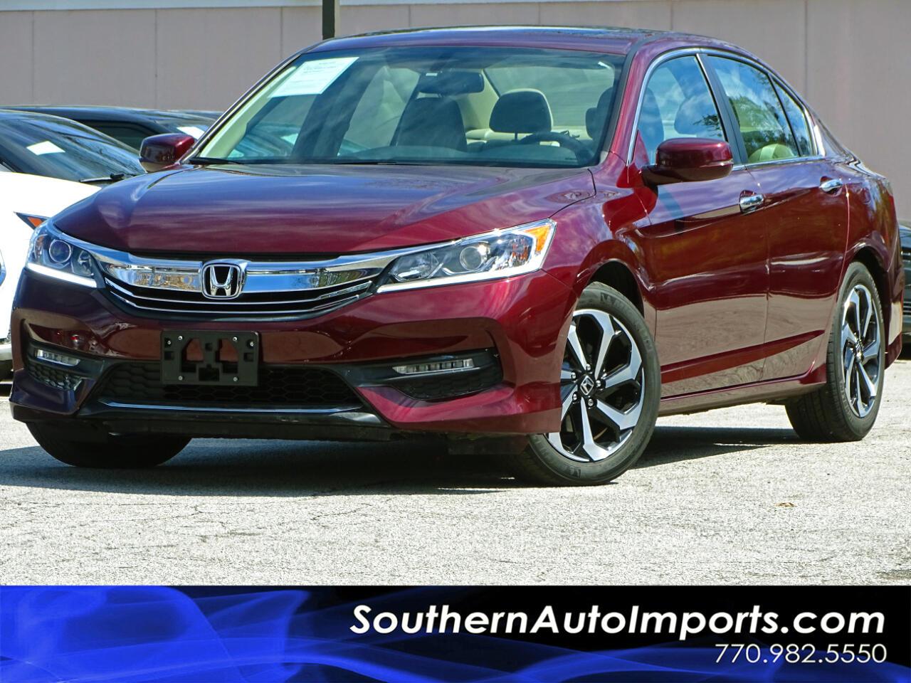 2016 Honda Accord Sedan EX-L w/Back Up Camera Memory Seats Heated Seats