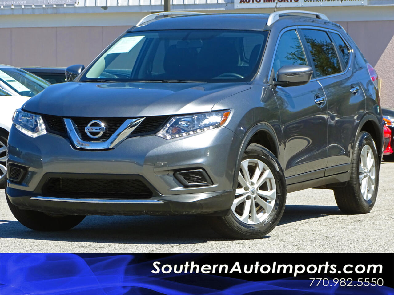2016 Nissan Rogue AWD SV w/Back up Camera Satellite Radio
