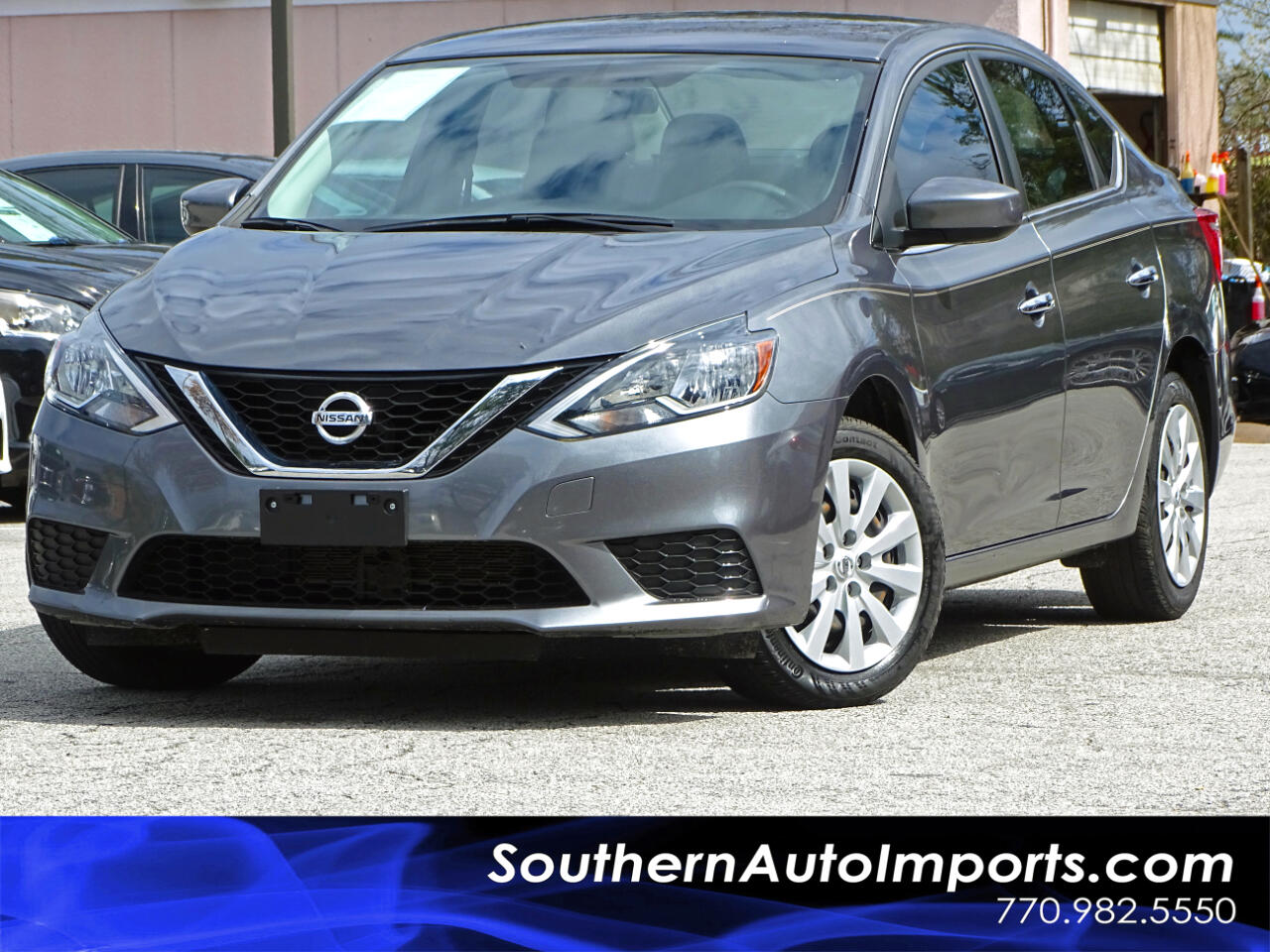 2016 Nissan Sentra SV w/Back up Camera Navigation Blind spot
