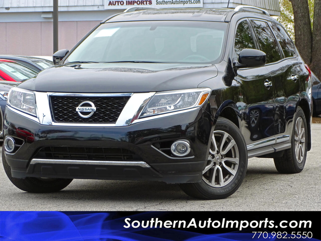 2015 Nissan Pathfinder SL w/3Rd Row Seats Heated Seats