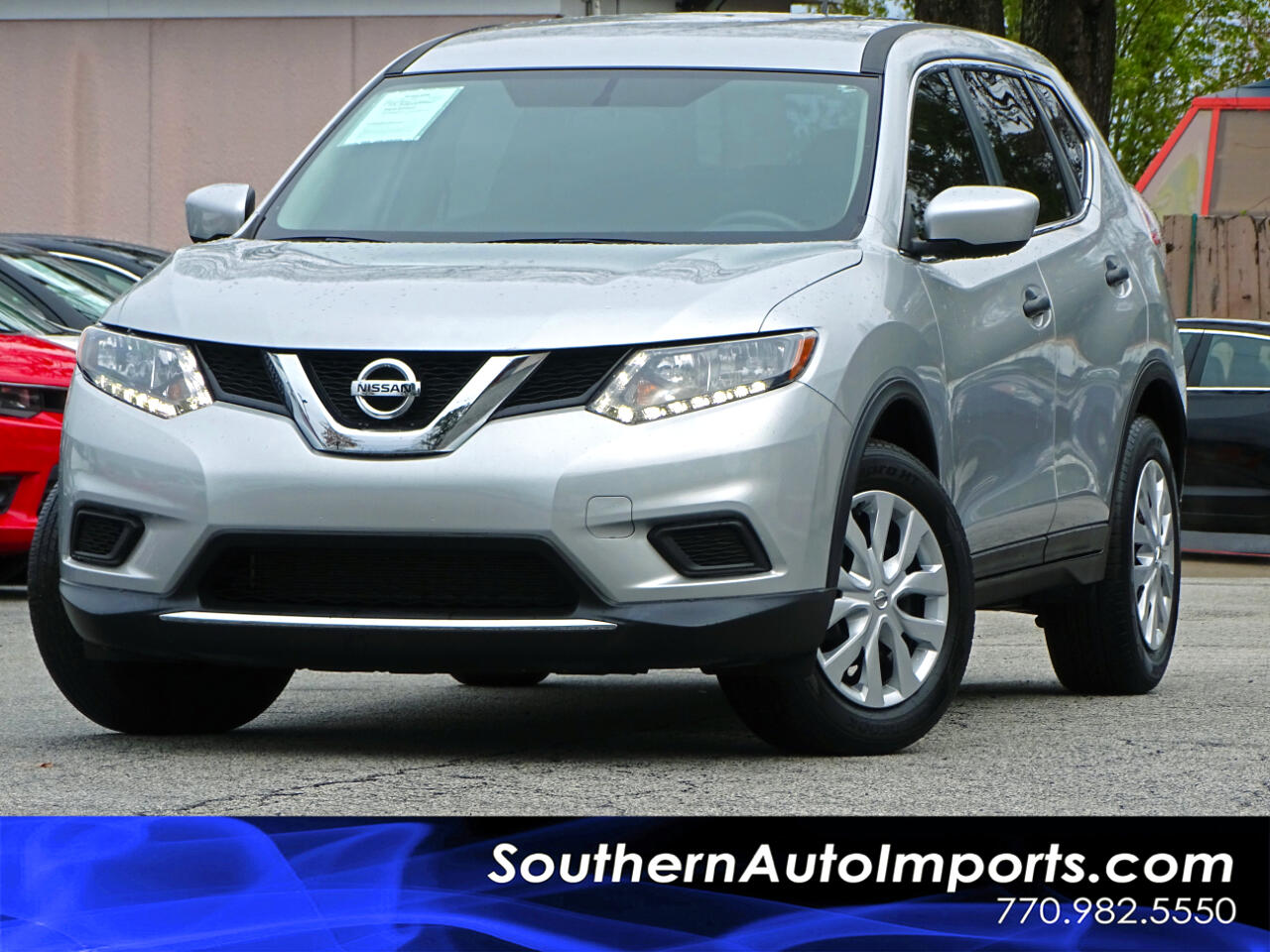 2016 Nissan Rogue S w/Back Up Camera Bluetooth Connection