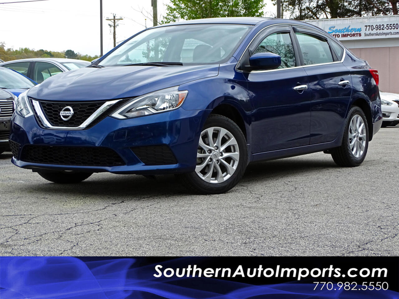 2017 Nissan Sentra S w/Alloy Wheels Bluetooth