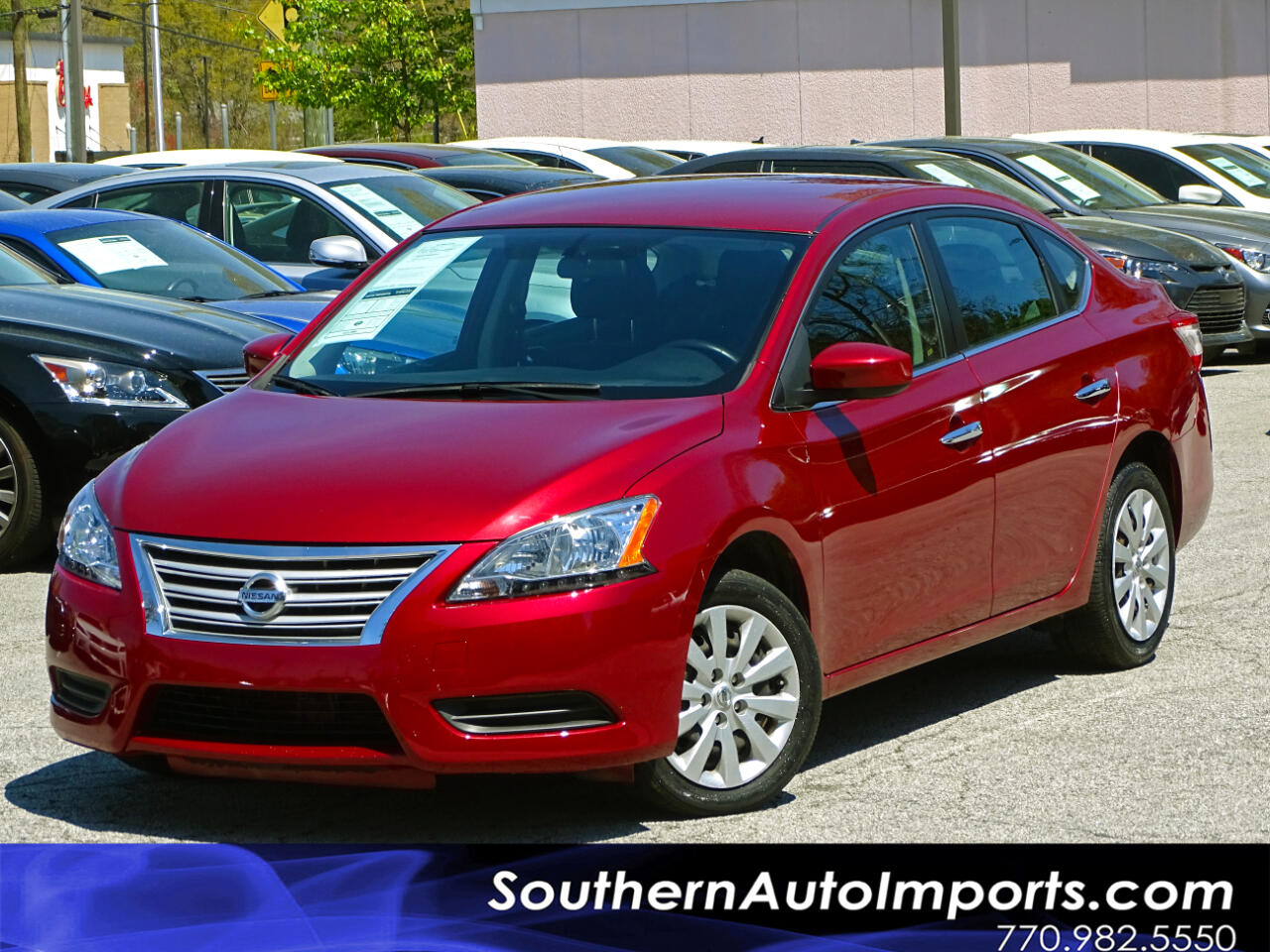 2015 Nissan Sentra SV w/Back up Camera Bluetooth Connection