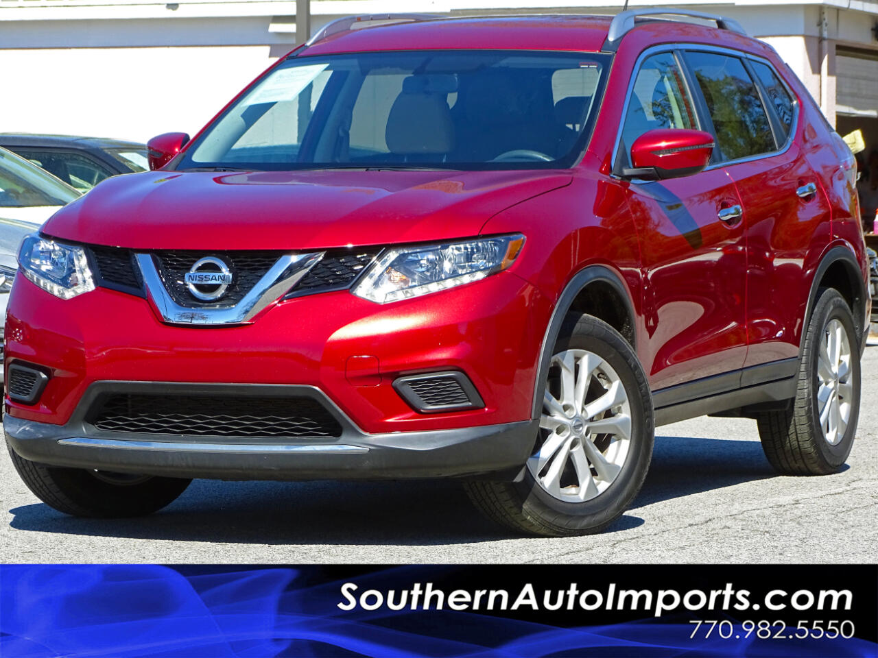 2016 Nissan Rogue AWD SV w/Back up Camera Bluetooth Connection