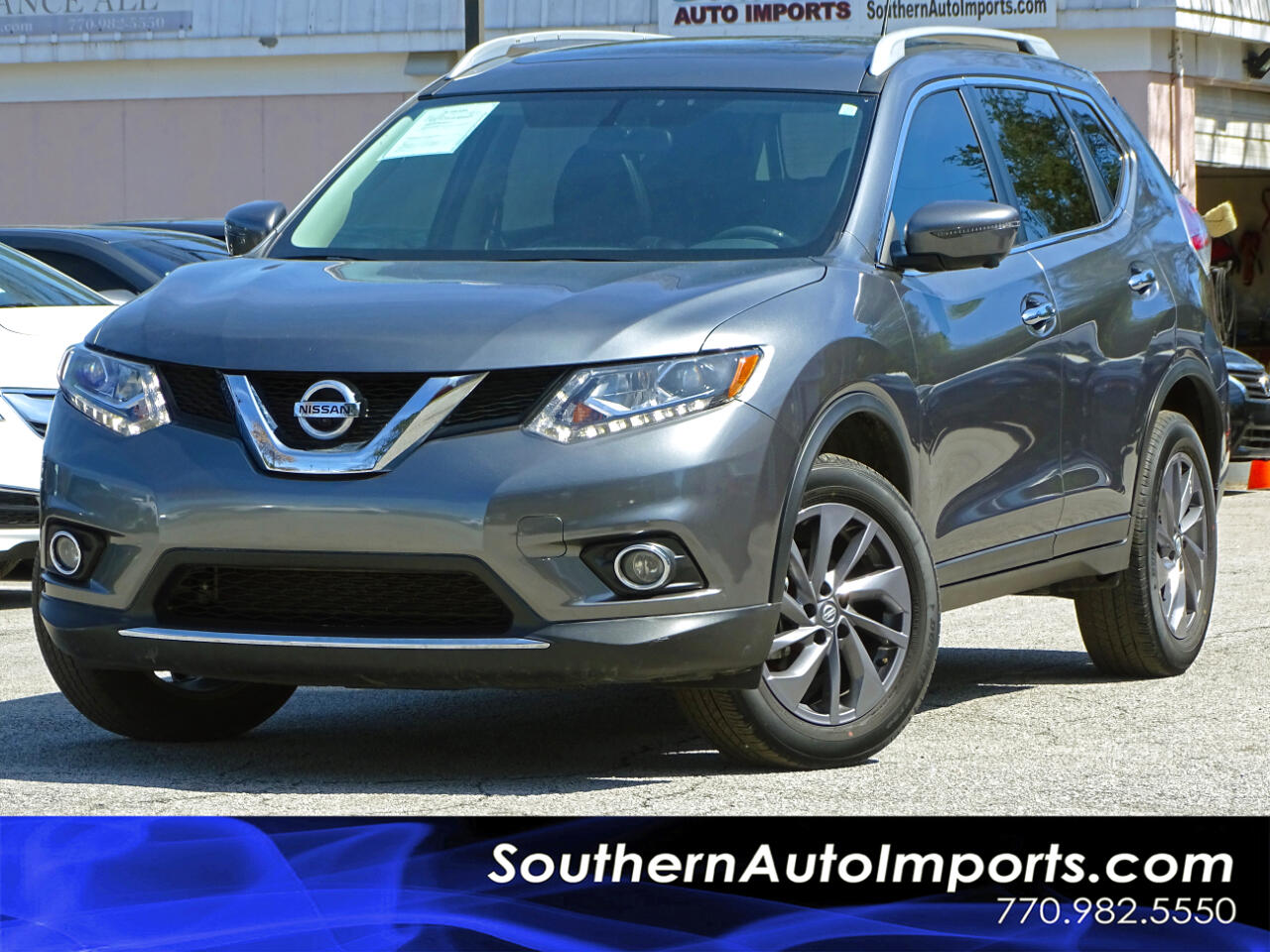 2016 Nissan Rogue AWD SL w/SL Premium Pkg Back up Camera Navigation