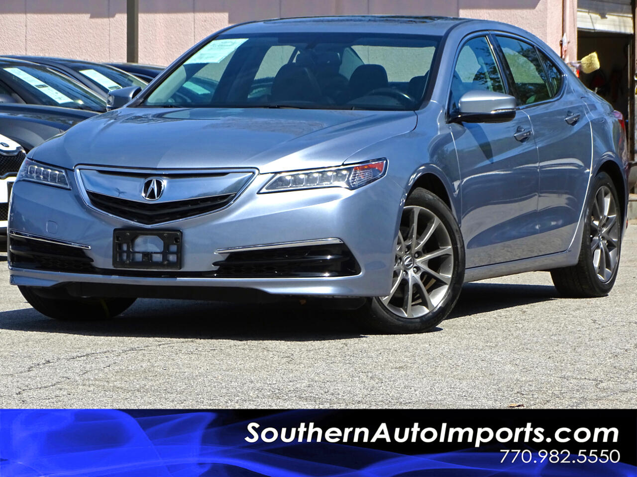 2016 Acura TLX Auto w/Back up Camera Heated Seats Satellite Radio