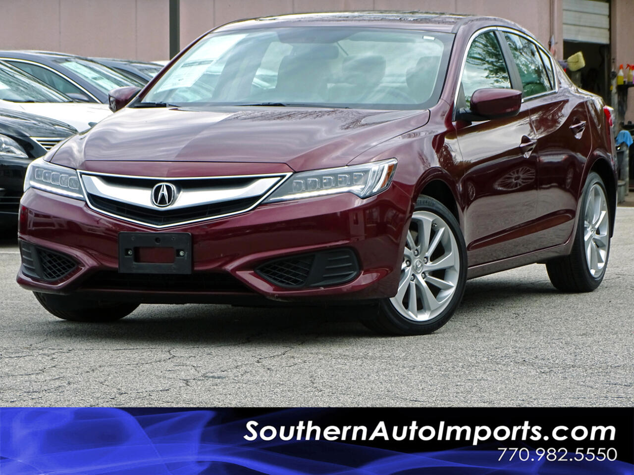 2016 Acura ILX Auto w/Back up Camera Heated Seats Satellite Radio