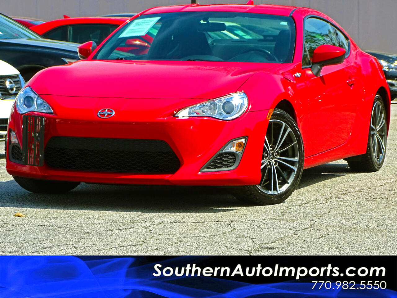 2016 Scion FR-S 6 Speed Manual w/Back Up Camera 1owner