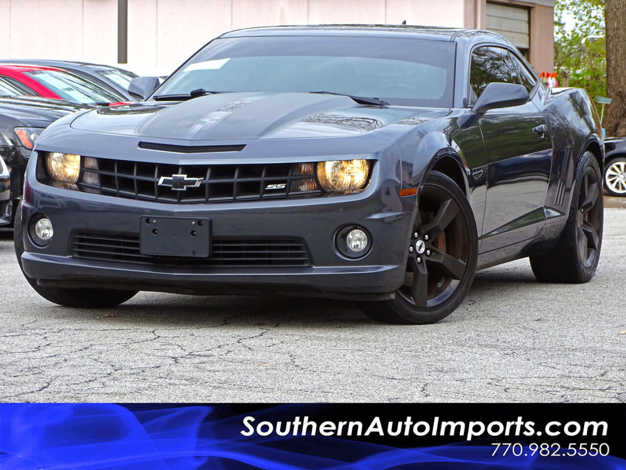 2010 Chevrolet Camaro 2 SS w/Parking Sensors Paddle Shifter