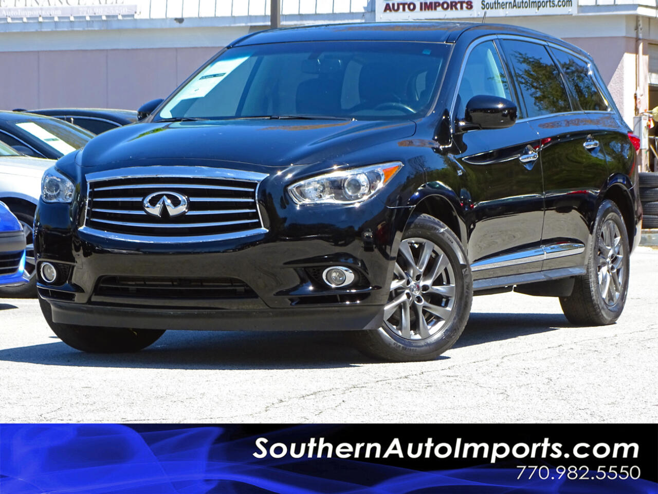 2015 Infiniti QX60 AUTO w/3rd Row Seats Back up Cam Navigation