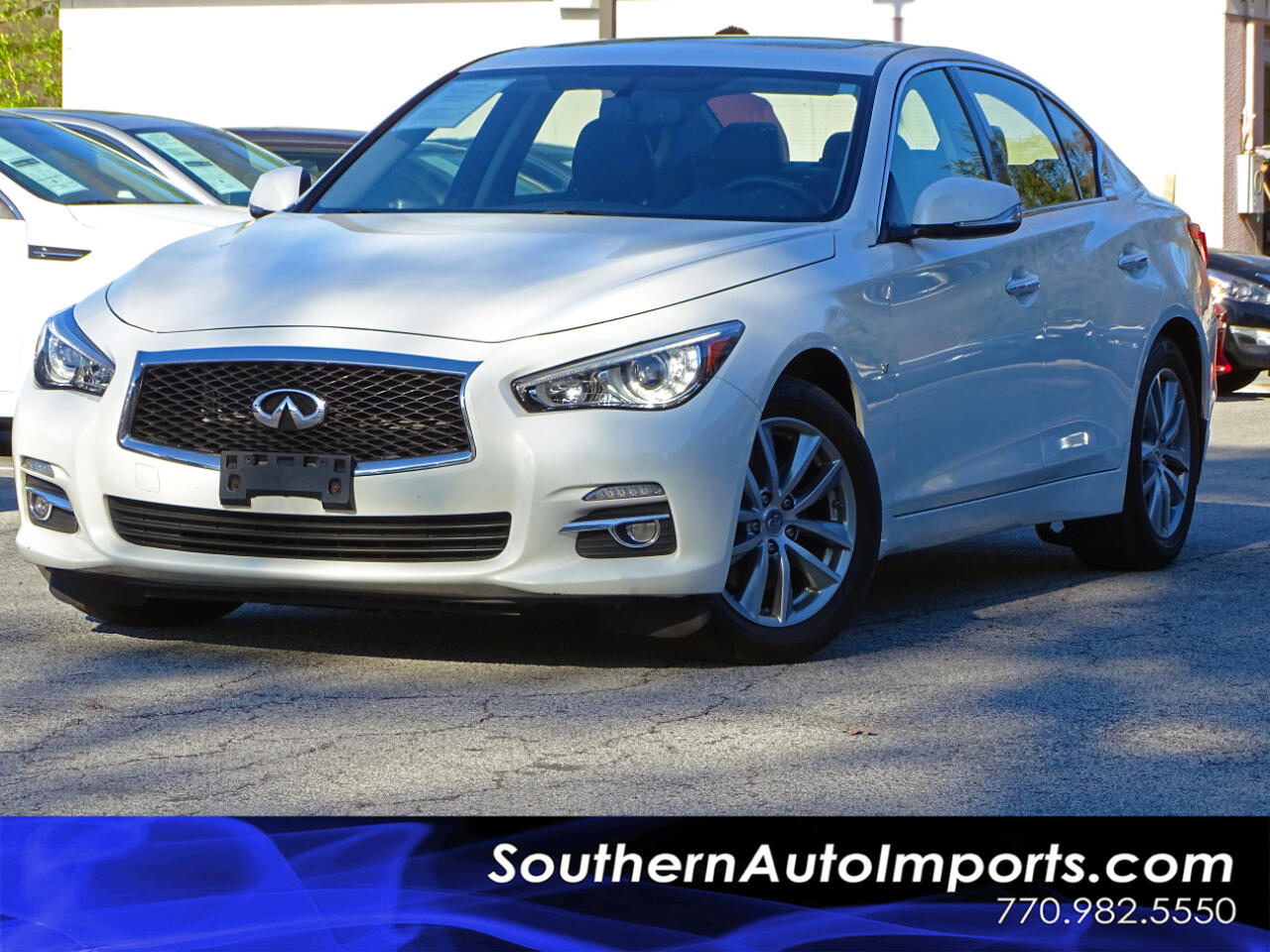 2015 Infiniti Q50 Premium w/Navigation Pkg All Weather Pkg