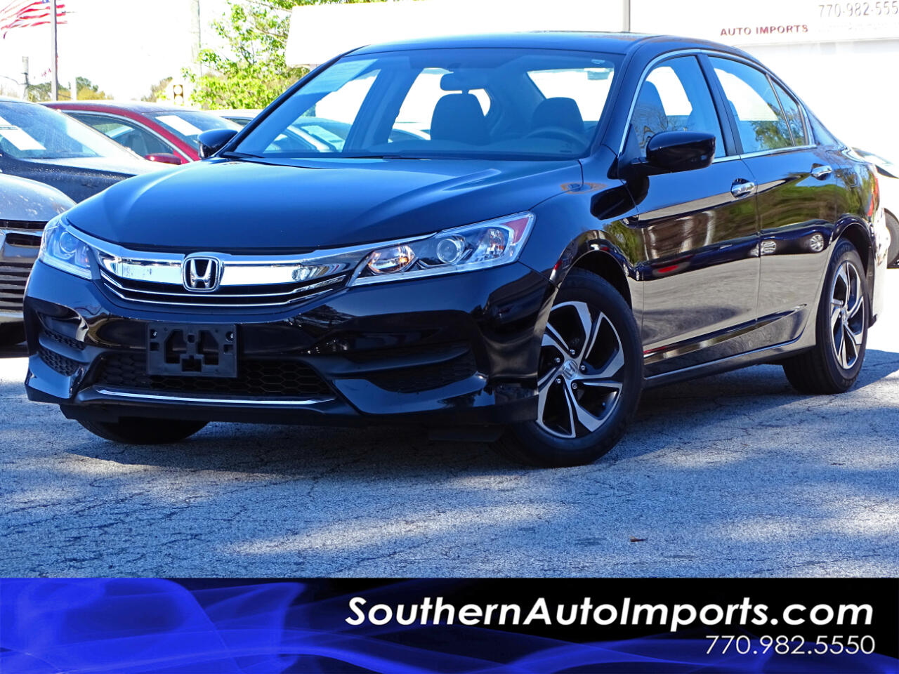 2016 Honda Accord Sedan Accord LX w/Back up Camera Bluetooth Connection