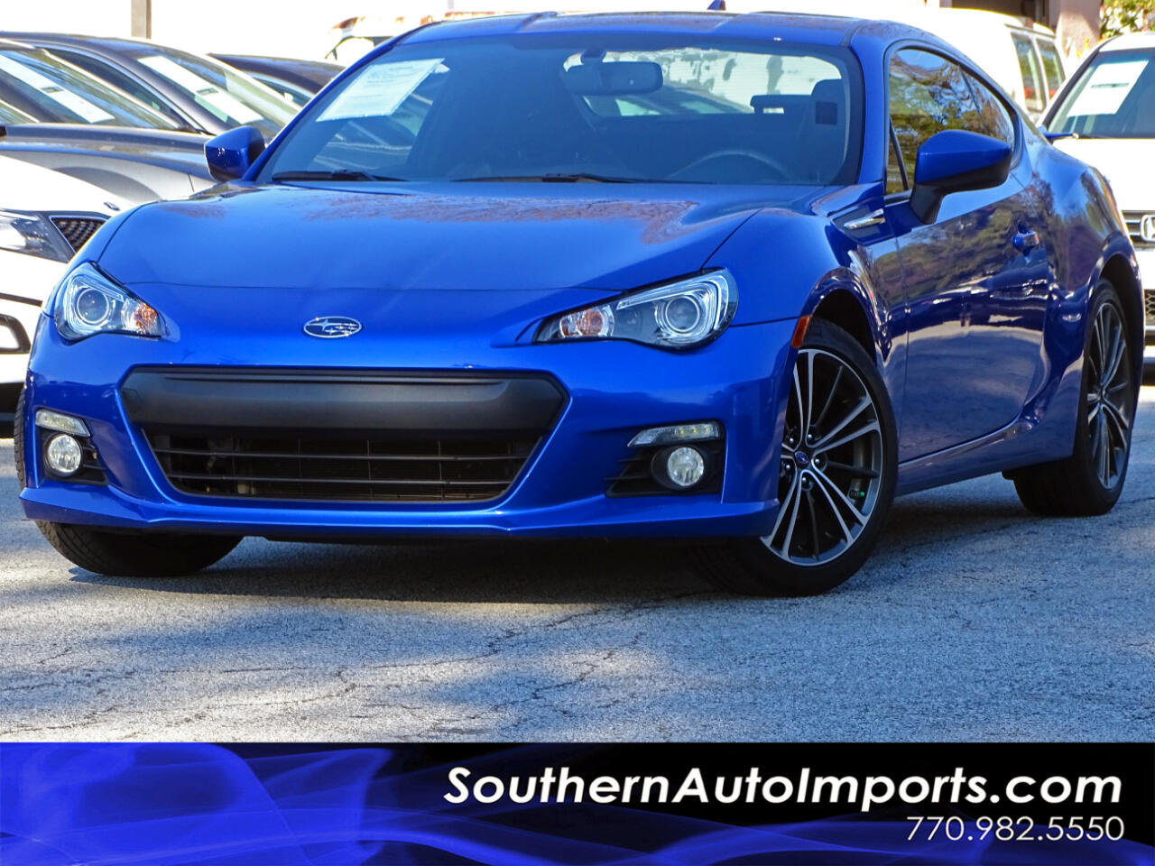 2015 Subaru BRZ LIMITED w/Navigation Heated Seats