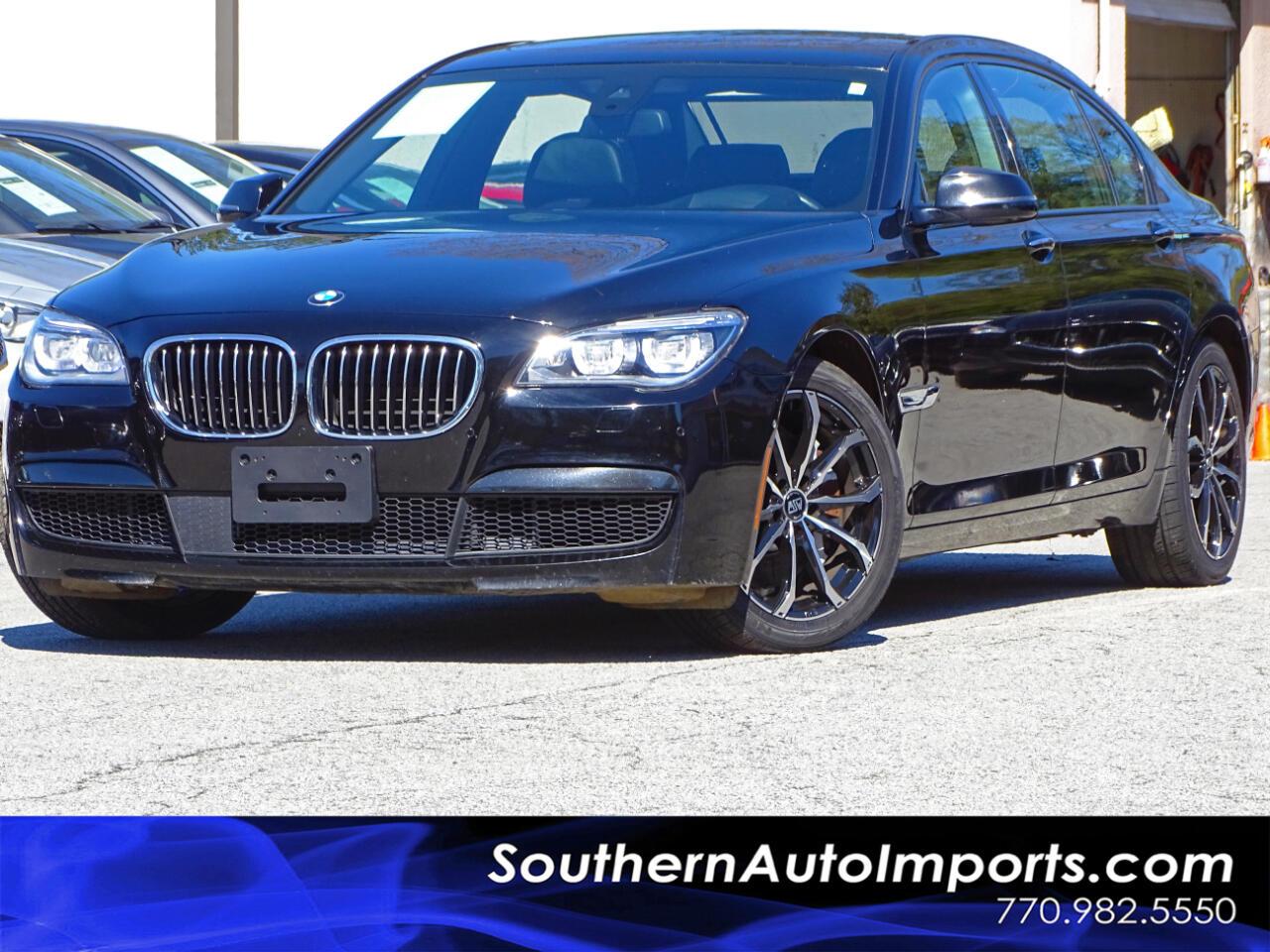 2014 BMW 7 Series 750LI w/M Sport Pkg Executive Pkg