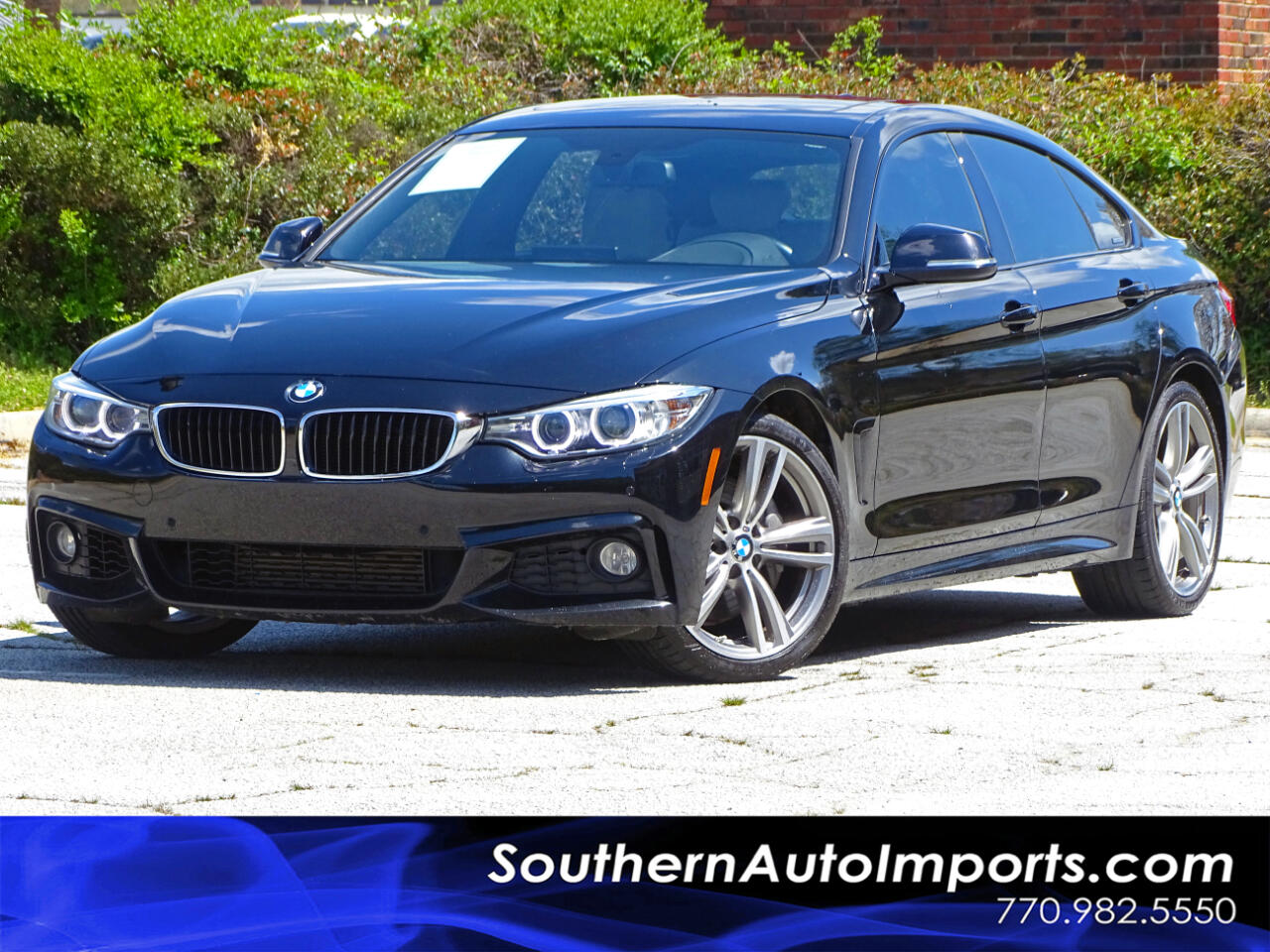 2016 BMW 4 Series 435i Gran Coupe ///M Sport Pkg Tech Pkg