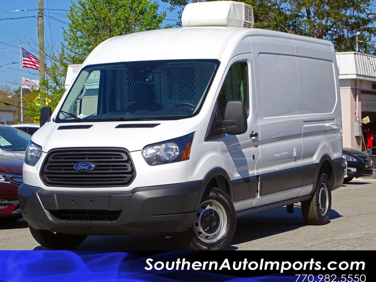 "2016 Ford Transit Cargo Van T-250 148"" Med Rf 9000 GVWR Sliding RH Dr"