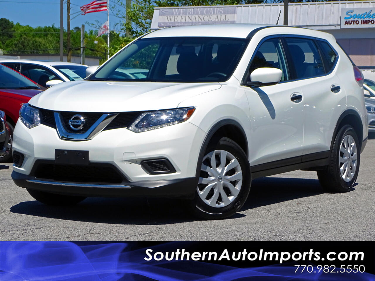 2016 Nissan Rogue S AWD w/Back up Camera Satellite Radio