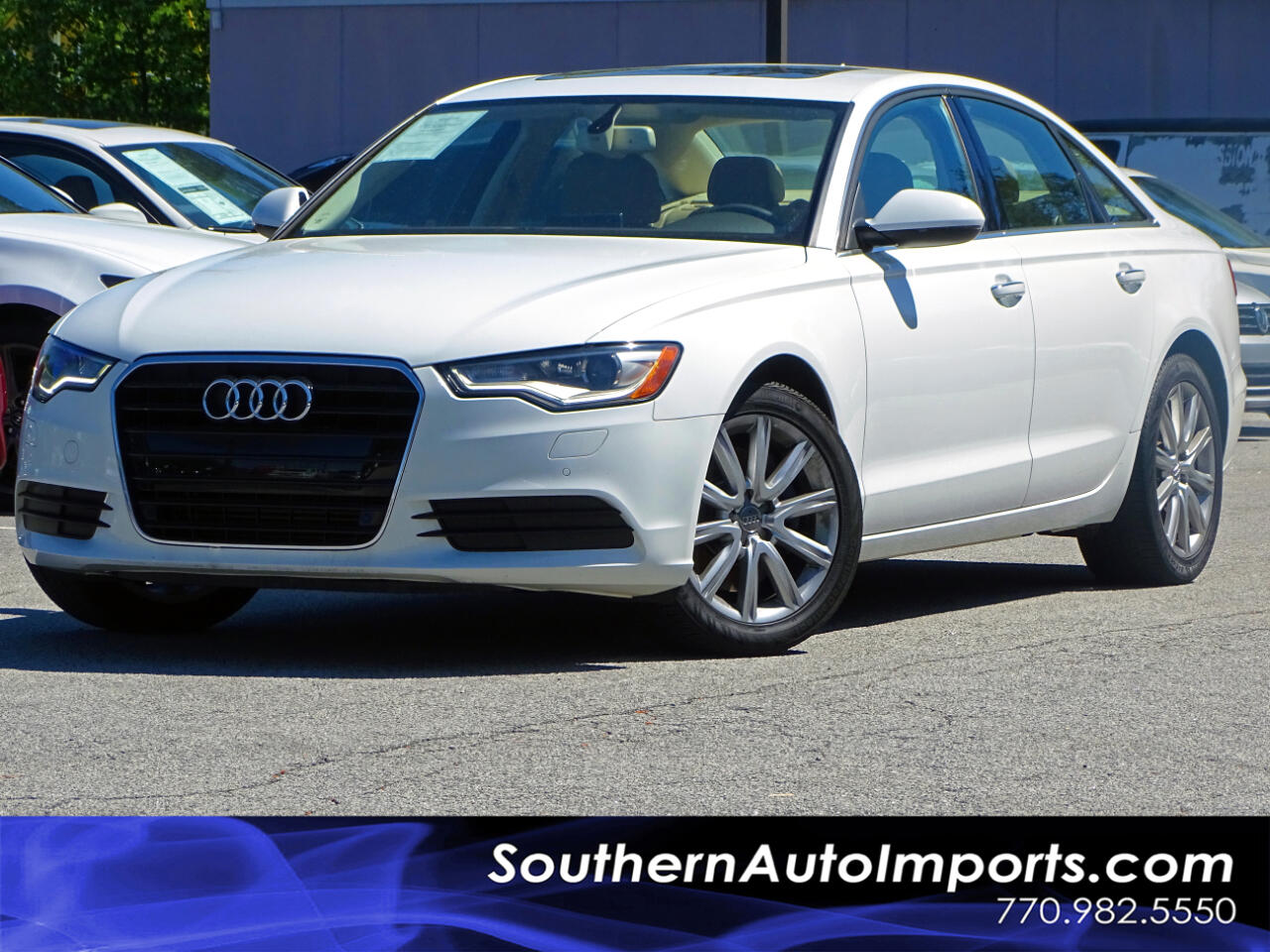 2015 Audi A6 Premium Plus Pkg Back Up Cam Navigation