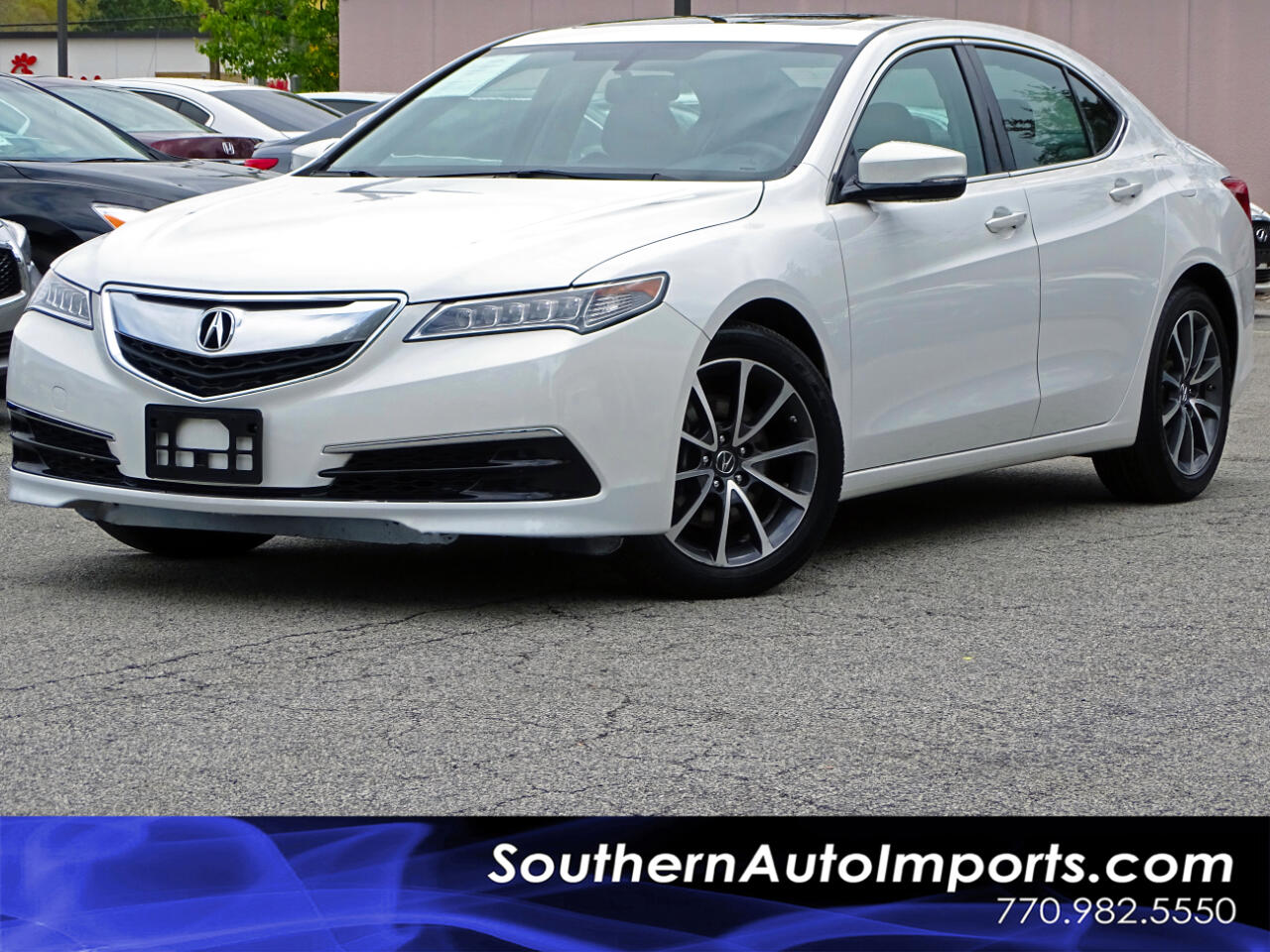 2016 Acura TLX Sdn w/Back up Camera Heated Seats Sunroof