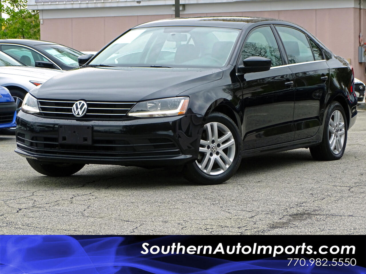 2017 Volkswagen Jetta S auto w/ Back up Camera Bluetooth Connection