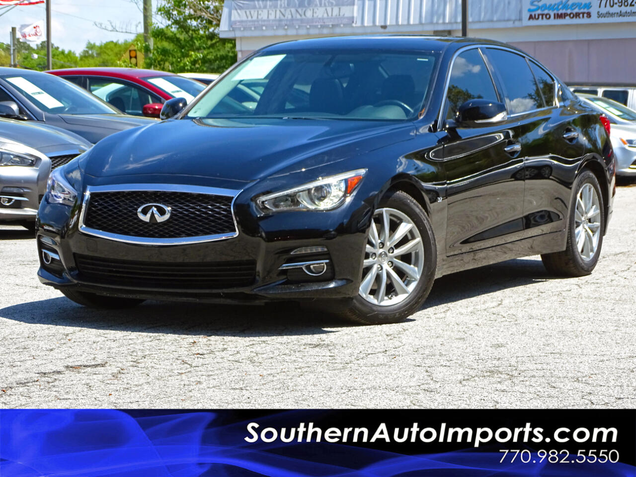 2015 Infiniti Q50 Premium w/Weather PKG & Navigation PKG