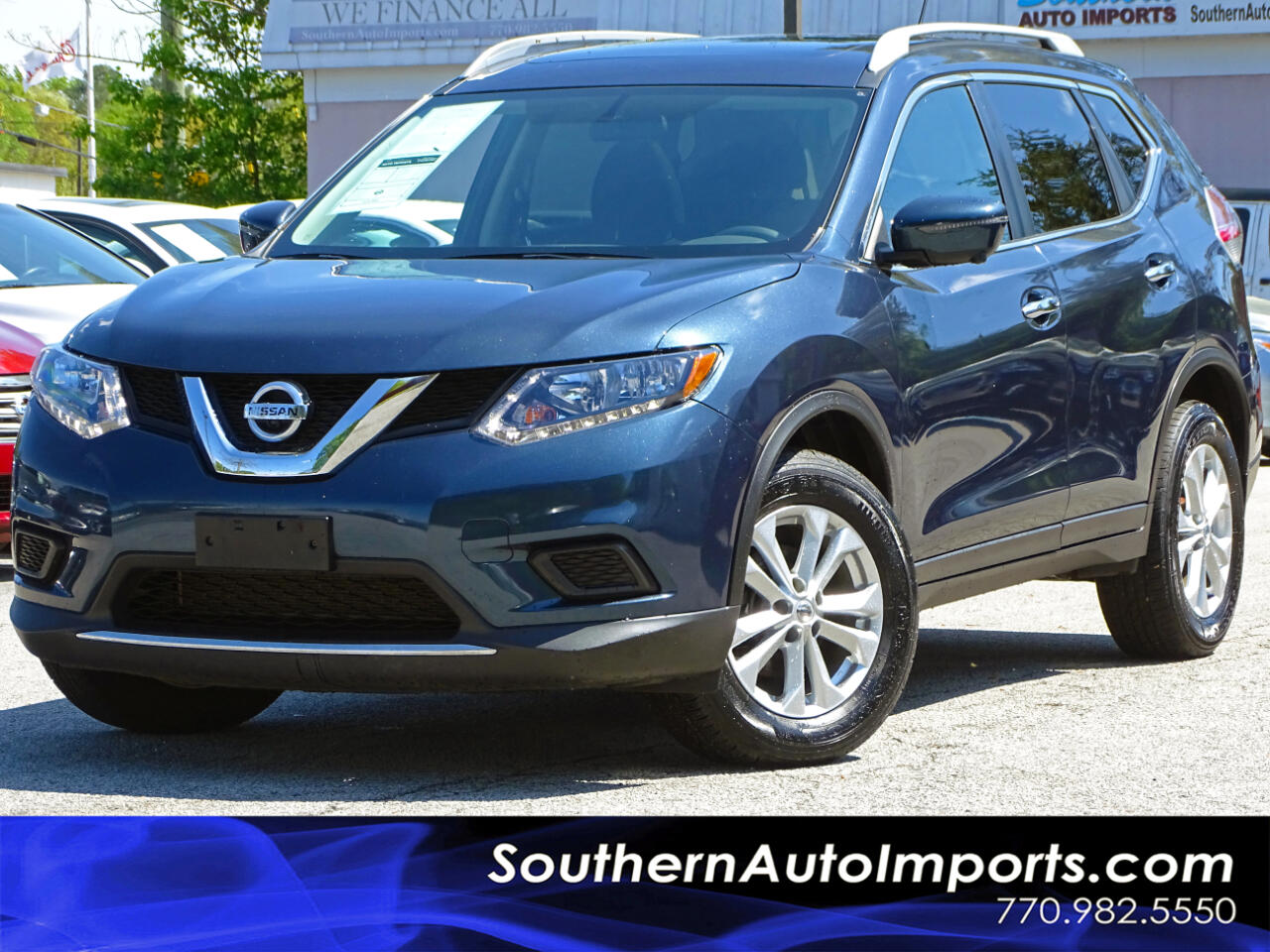 2016 Nissan Rogue SV Premium PKG AWD Back up Camera