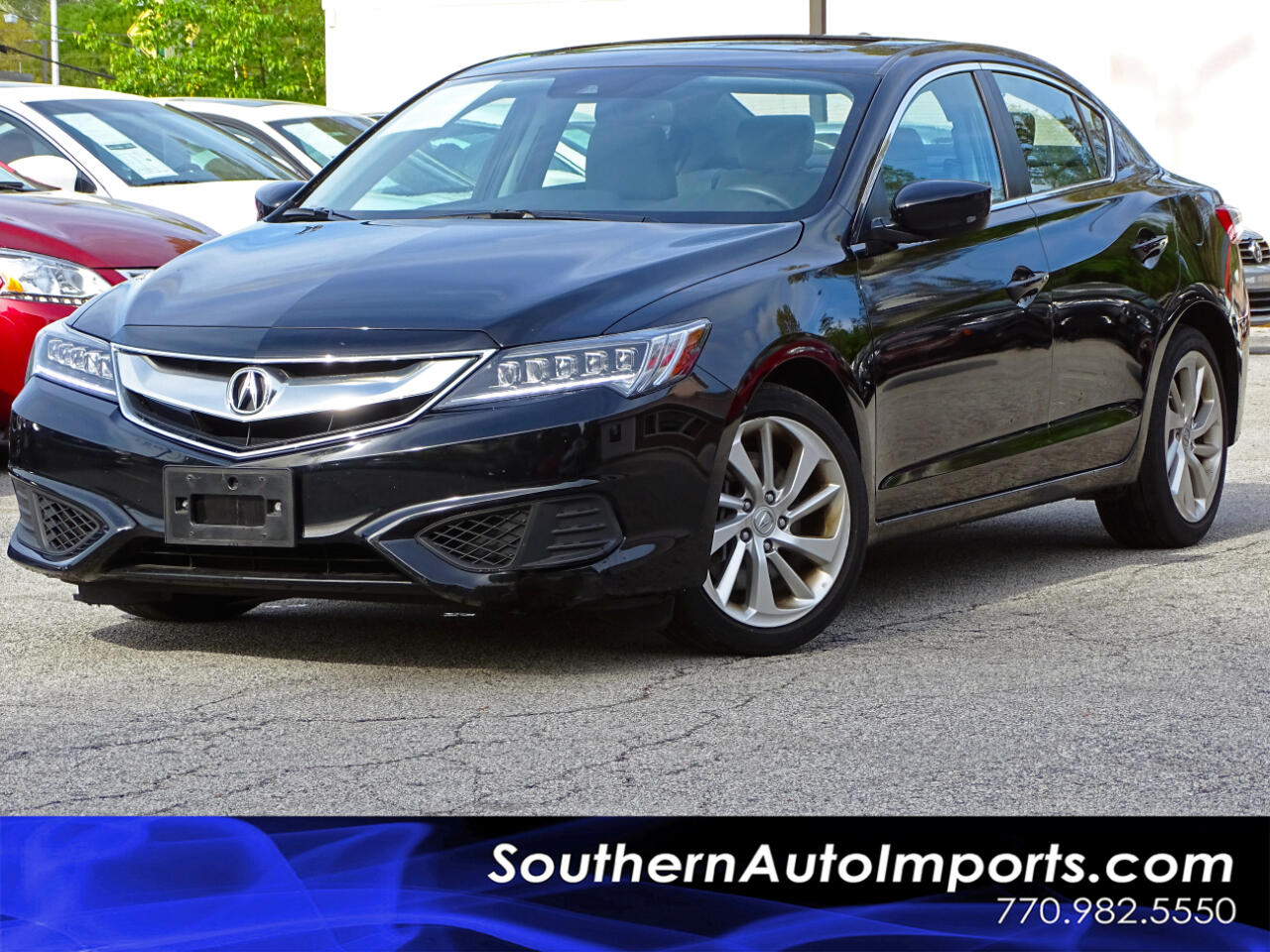 2016 Acura ILX Premium PKG Tech Pkg Watch Plus Pkg Navi system