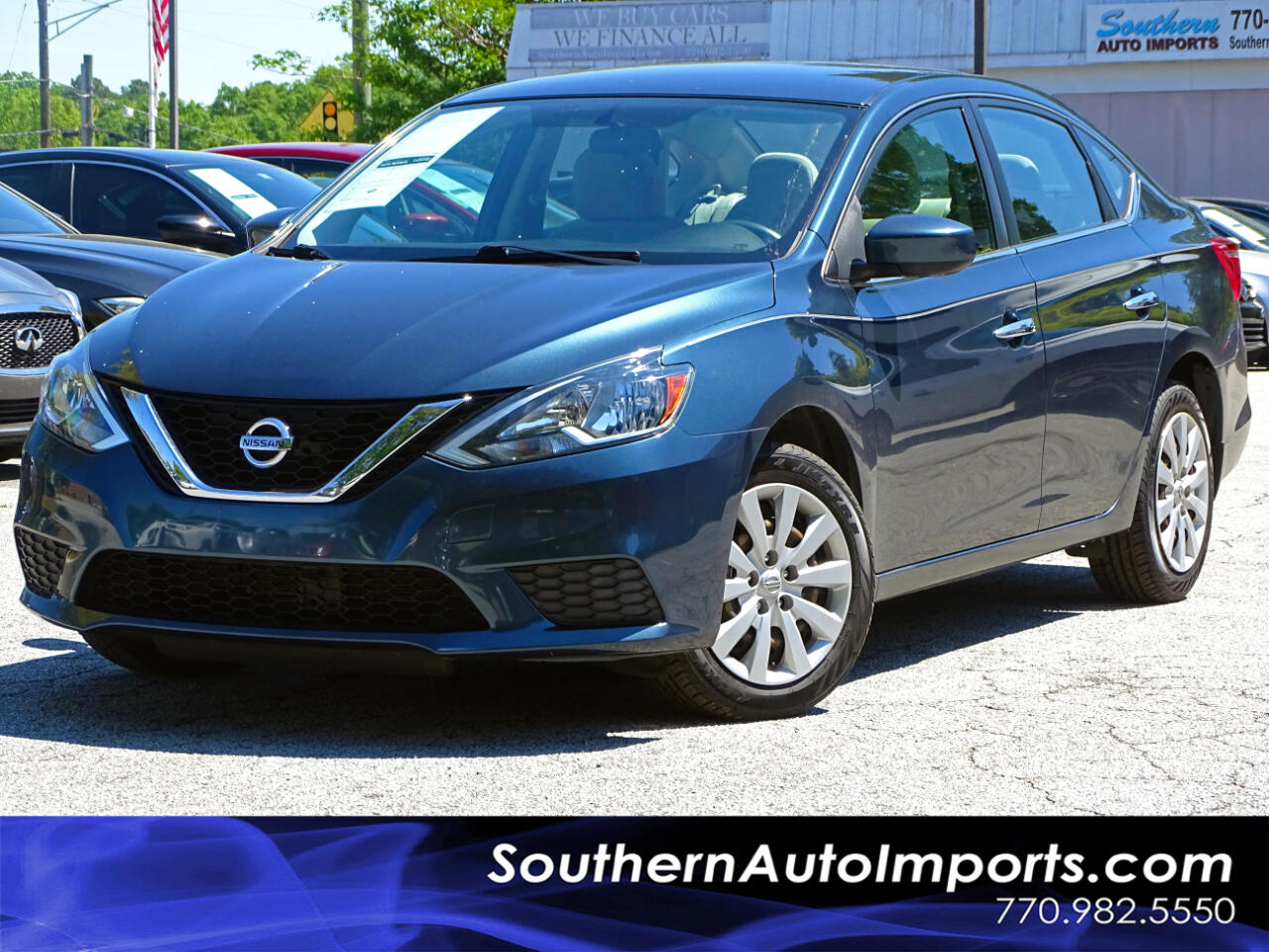 2016 Nissan Sentra SV w/Back up Camera Bluetooth Connection